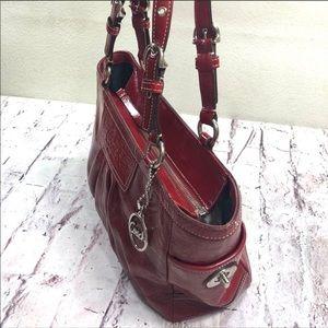 Coach Patent Leather Signature Bag